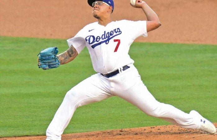 Dodgers ganan a Padres