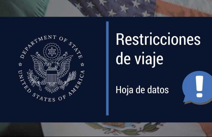 Nueva prórroga a la restricción de viajes fronterizos