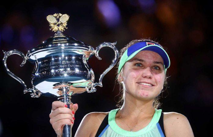 Sofia Kenin se corona en el Abierto Australia