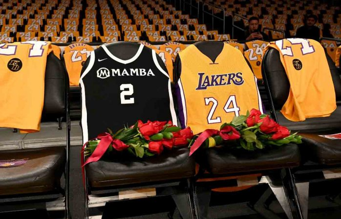 Emotivo homenaje a Kobe Bryant en el Staples Center