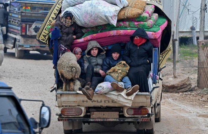 Más de 800 mil sirios huyen de la provincia Idlib