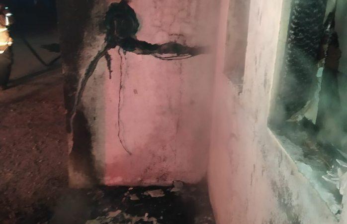 Se incendia otra vivienda