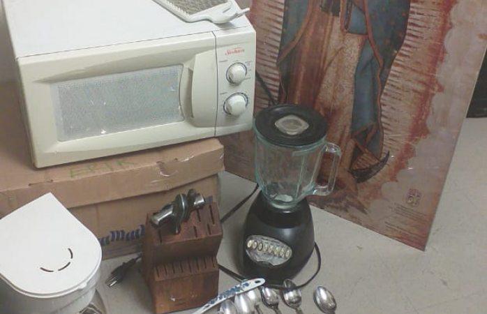 Recuperan ministeriales objetos robados de taller mecánico