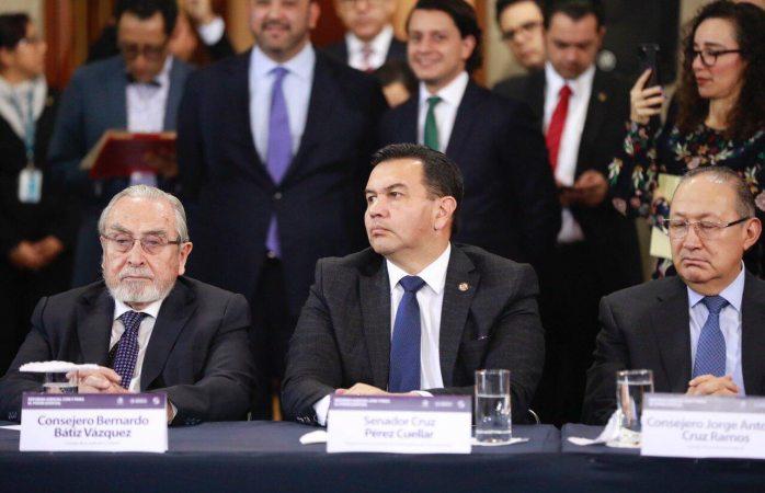 Recibe senado iniciativa de reformas al poder judicial de la federación