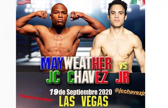 Chávez Jr. se aloca y anuncia pelea vs Floyd Mayweather Jr.