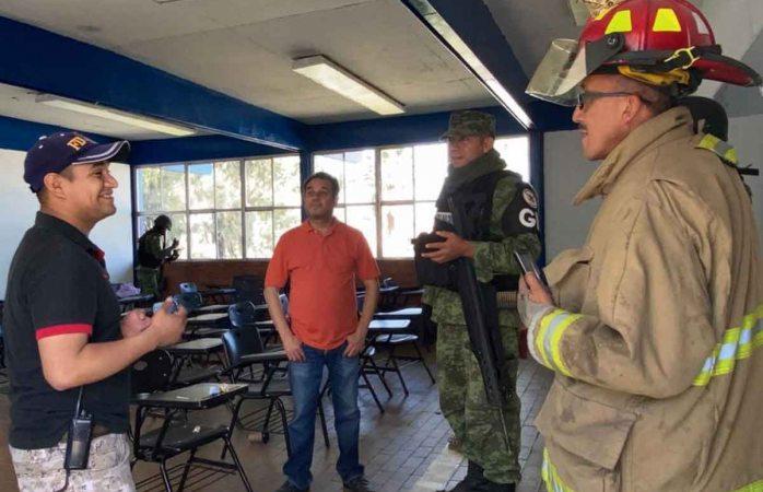 Evacuan cbtis 147 por amenaza de bomba en Guanajuato