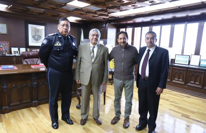 Visita ministro de asuntos migratorios de honduras a autoridades de juárez