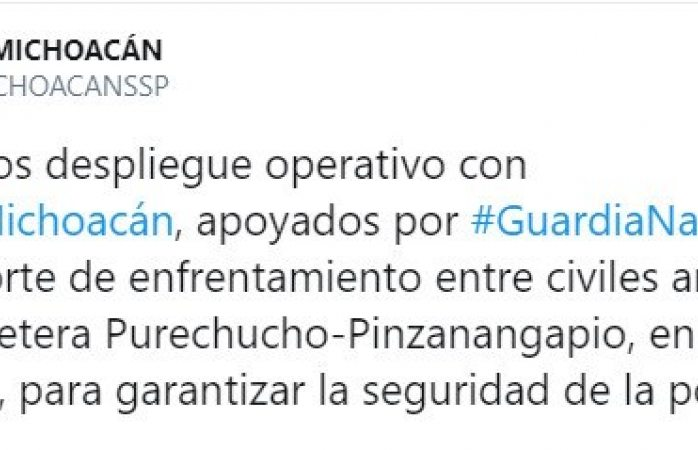 Suman ocho muertos en balacera entre grupos rivales en Huetamo