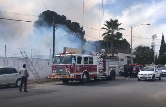 Evacuan guardería luego de un incendio
