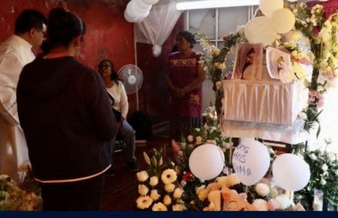 Madre de fátima no asistió a la misa de su pequeña hija