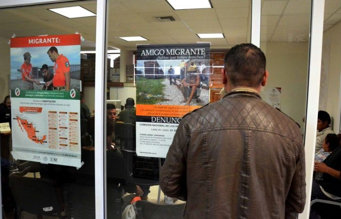 Asesora personal derechos humanos a migrantes