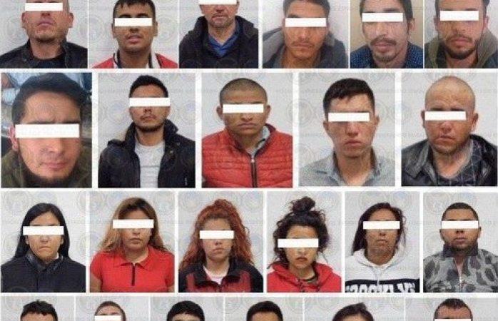 Capturan en Silao a 24 presuntos miembros del CJNG