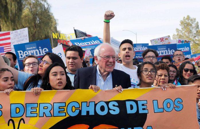 Impulsa votaciones electorales a población latina, Bernie Sanders