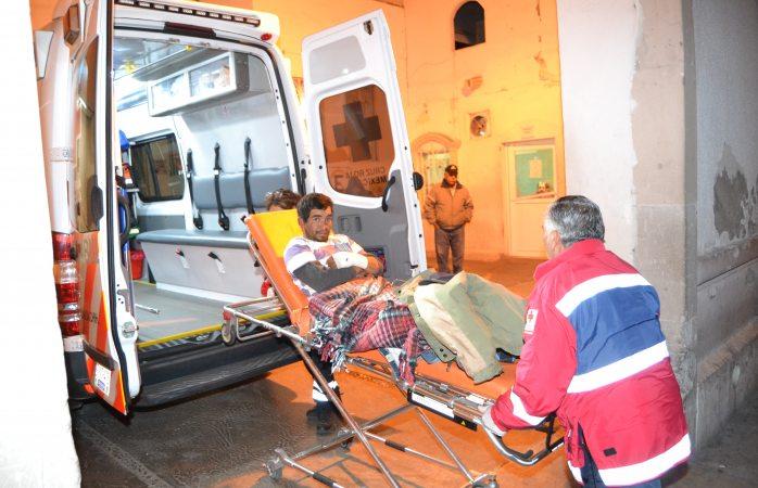 Jinete sufre fracturas al caer de un caballo