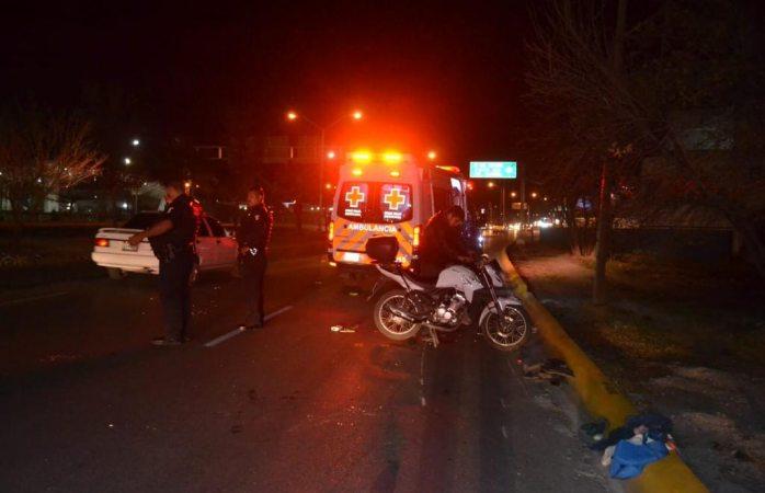 Atropellan a mujer en avenida Pacheco