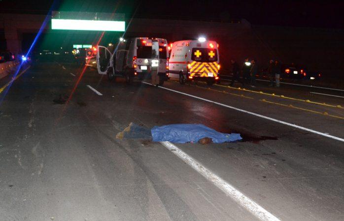 Mueren dos personas destrozadas en la carretera a ciudad Aldama