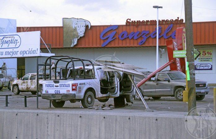 Atacan de nuevo a estatales en Juárez