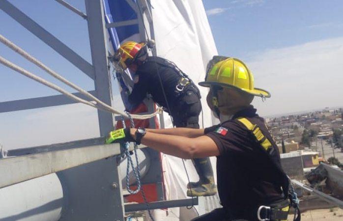 Atienden bomberos incidentes causados por las ráfagas de viento