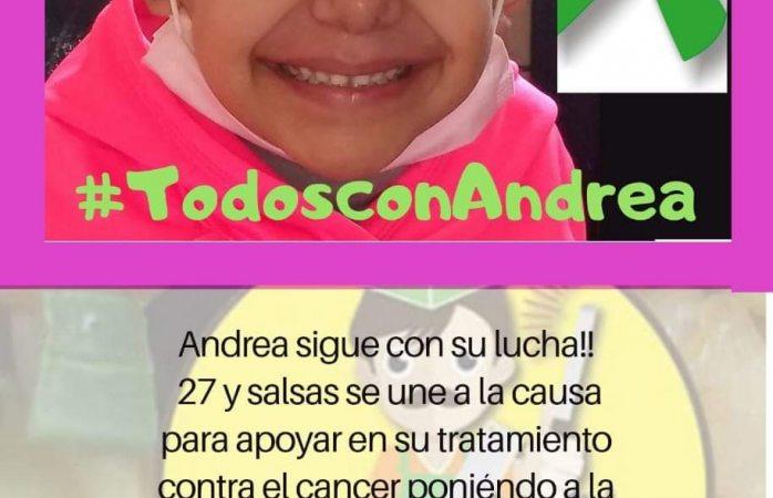 Invitan a comprar chamorros para ayudar a la niña Andrea