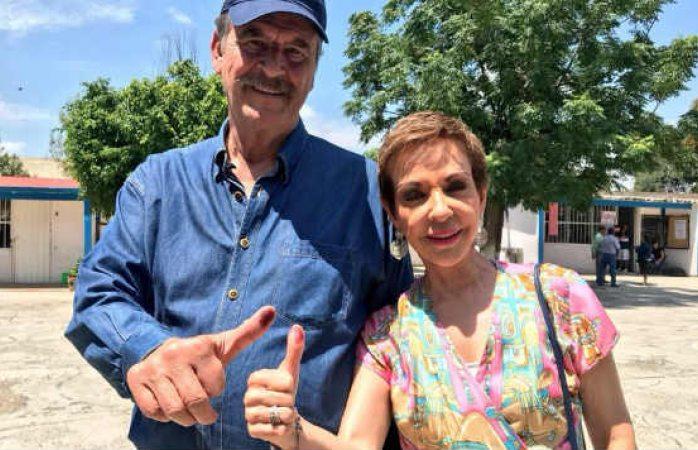 Propone Fox a Martha Sahagún para presidenta 2024