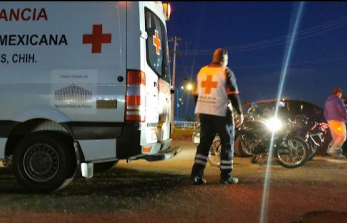 Jornada de choques dejó dos lesionados y daños de 500 mil pesos