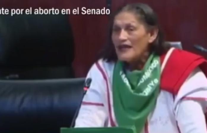 Senadora Jesusa Rodríguez vuelve a hacer de las suyas