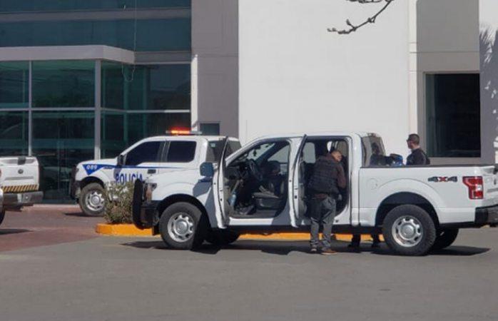 Escoltas de Aparicio los atacados en Juárez esta tarde