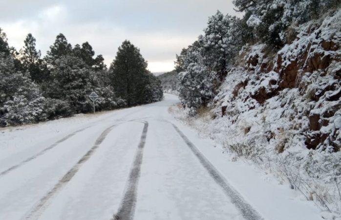 Llega frente frío y sexta tormenta invernal
