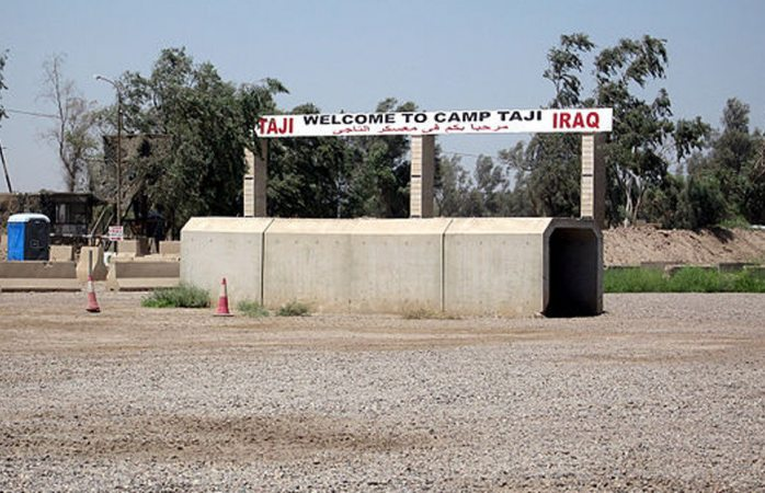 Impactan dos misiles en base militar iraquí que alberga a tropas de EU
