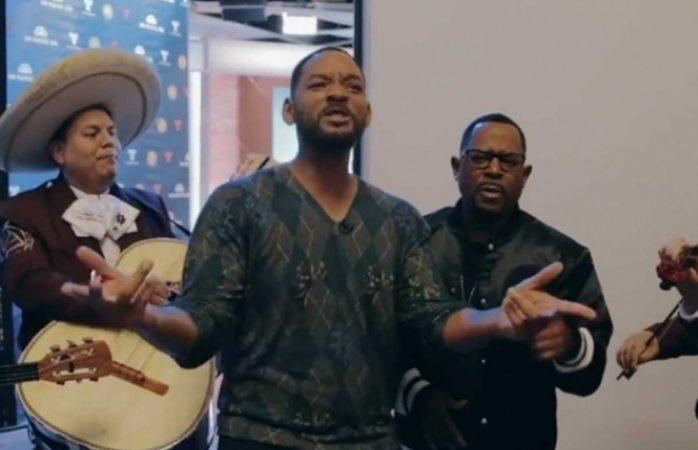 Will Smith hace gala de voz y canta Bad Boys con mariachi