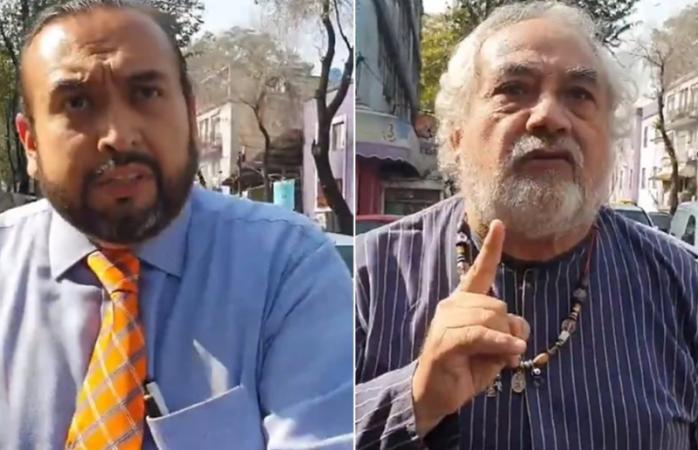 Funcionarios de la FGR amenazan a un hombre frente a sus hijos (VIDEO)