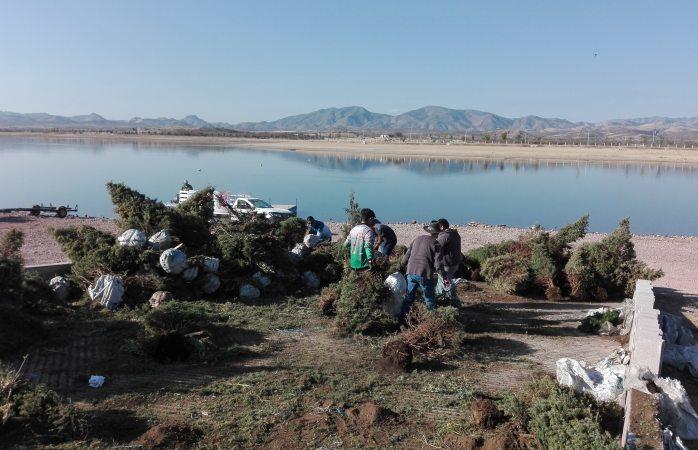 Crean clubes de pesca arrefices artificiales en presa Chihuahua