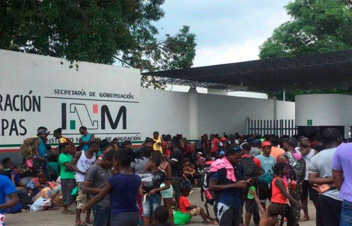 Defensores de derechos humanos demandan al INM