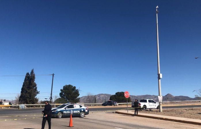 No funciona cámara de seguridad en la avenida Fuentes Mares
