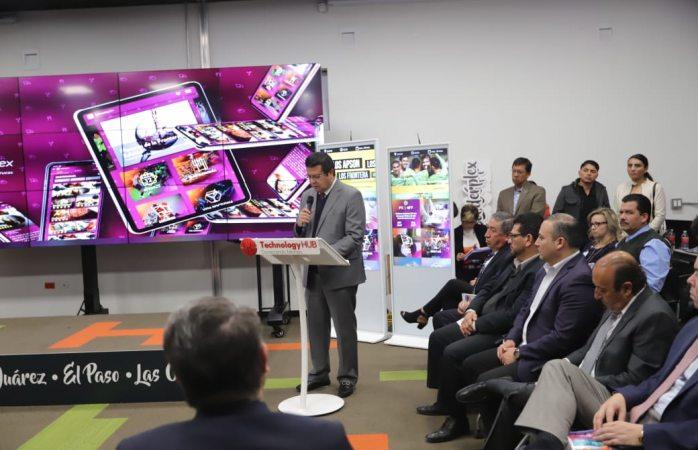 Acude Alcalde a presentación del lanzamiento de la plataforma Visit the Border Plex