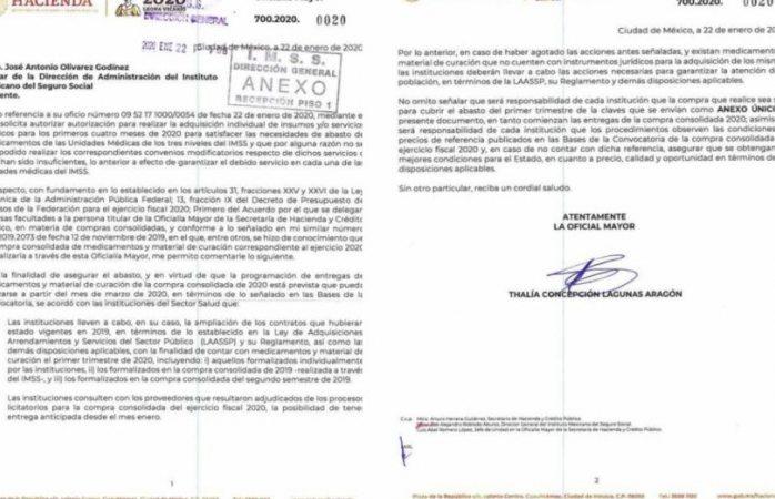 Hacienda pide a instituciones de salud garantizar medicamentos hasta marzo