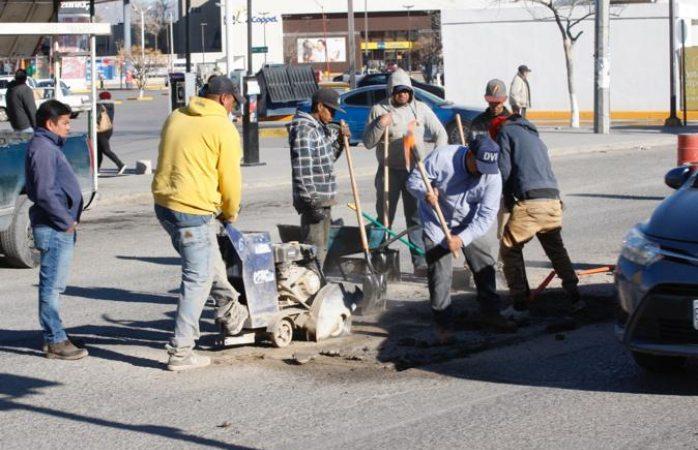 Continúan trabajos del Programa Emergente de Bacheo, se han reparado cerca de 4 mil 500 hoyancos