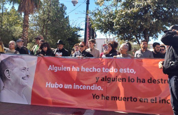 Protestan por impunidad a 110 días del asesinato de servín