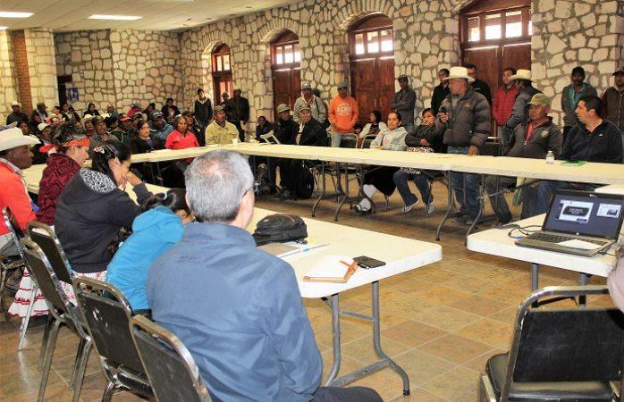 Consultan a etnias ante instalación del C4 en Guadalupe y Calvo