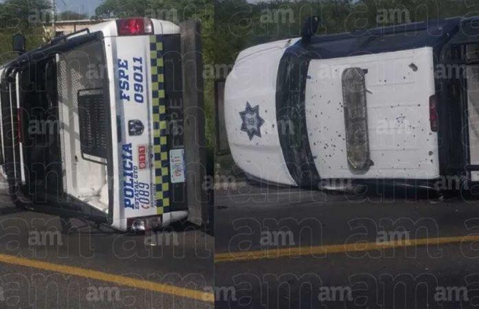 Ejecutan a cinco policías en guanajuato