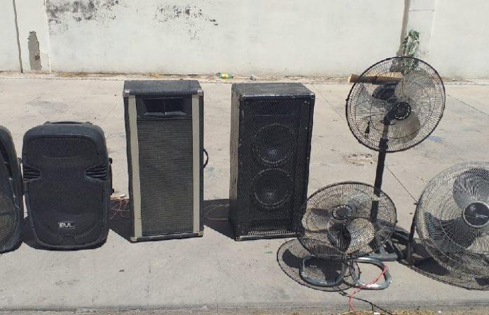 Localiza AEI objetos robados en tres colonias
