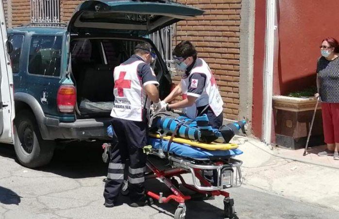 Resulta lesionado tras ser atropellado en la industrial