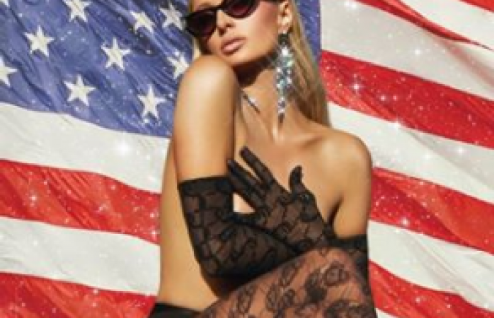 Festeja en topless paris hilton 4 de julio