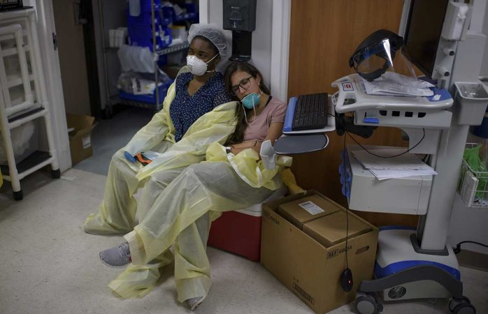 Al borde del colapso hospitales de houston