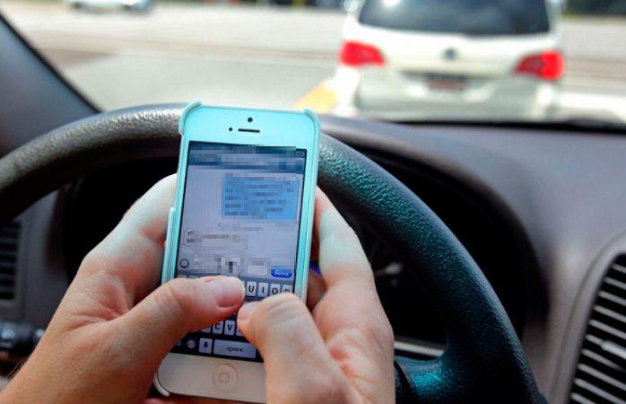 Uso del celular, principal causa de accidentes en cuauhtémoc