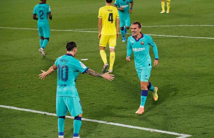 No renuncia barcelona su pelea por titulo de la liga