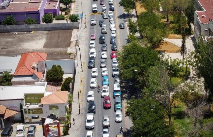 Resguardó seguridad vial caravana de 140 vehículos