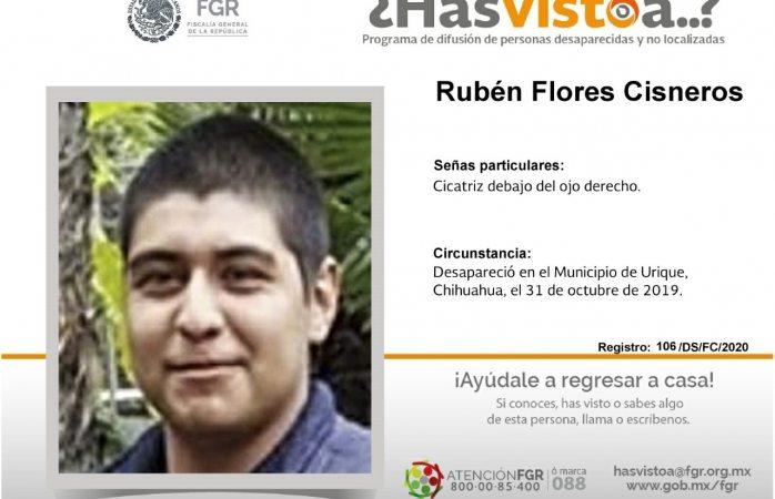 Busca pgr desaparecido en Urique