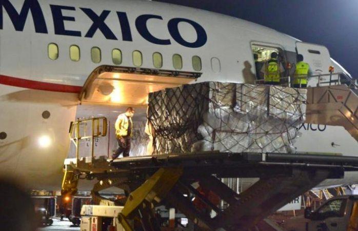 Llegan a México respiradores para pacientes covid hospitalizados en issste