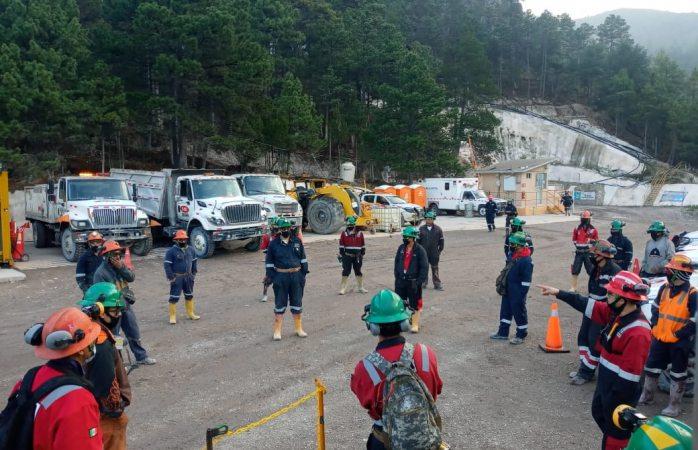 Minera san julián refuerza medidas sanitarias en guadalupe y calvo